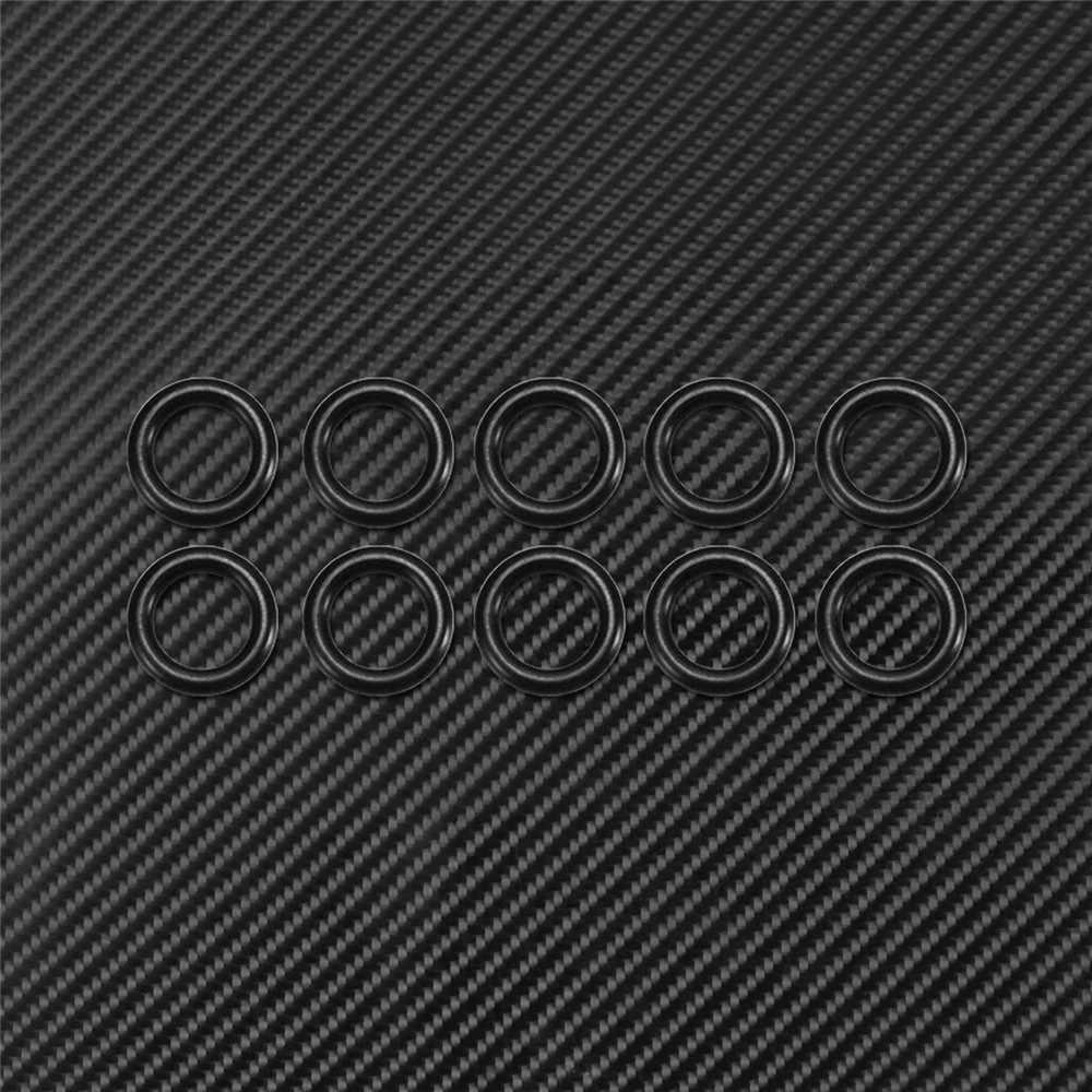 10Pcs אופנוע מנוע שידור Twin Cam שמן ניקוז תקע 1105 איטום O-טבעת שחור להארלי סיור Sportster dyna Softail
