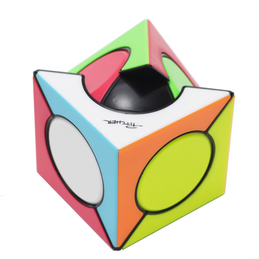 QiYi Six Spot  Magic Cube Strange Shape Speed Puzzle Cube Educational Toys For Children Cubo Magico