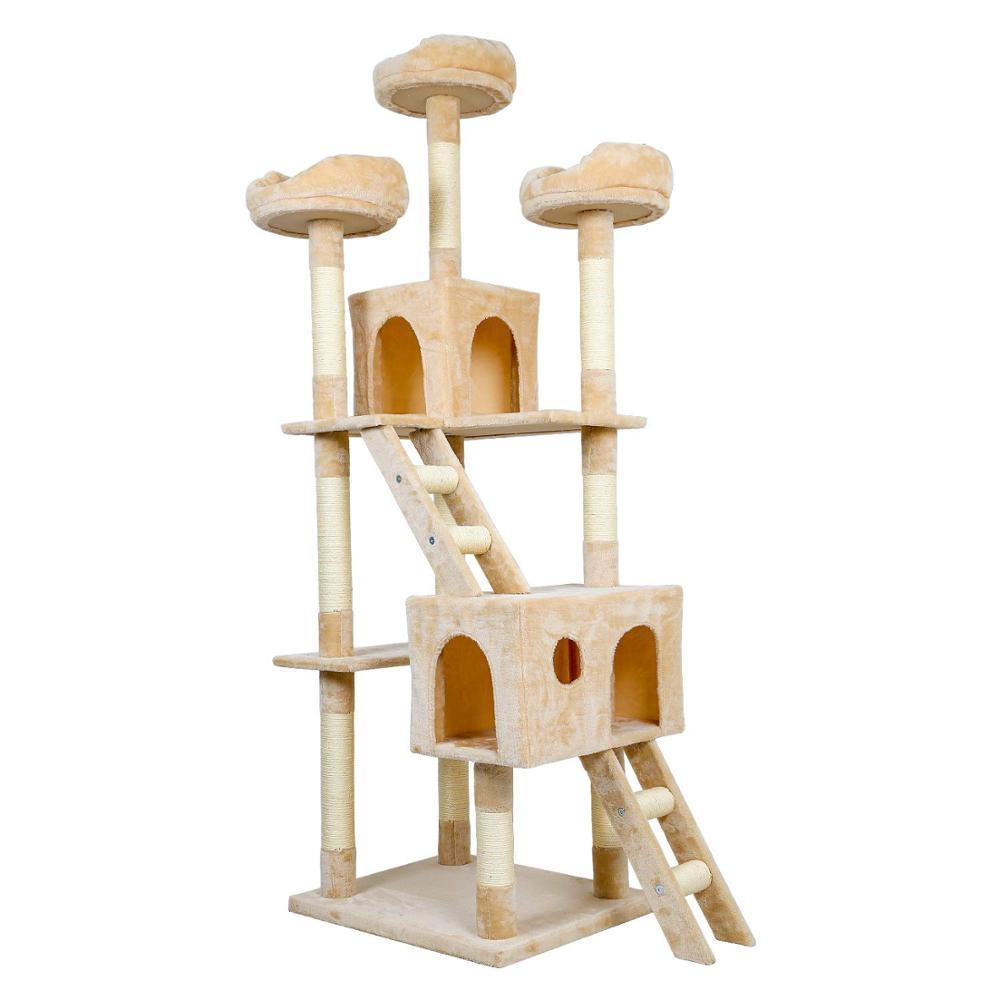 Chat arbre à gratter poteaux chat à gratter conseil jouet tour chaton à gratter poteaux Sisal corde Pet jouet C03