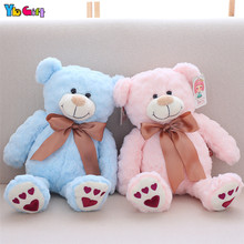 40cm/55cm  Plush Teddy Bear Toy Stuffed Bear Dolls Pink Blue Brown Teddy Toy Children Kids Christmas Gifts New Year present стоимость