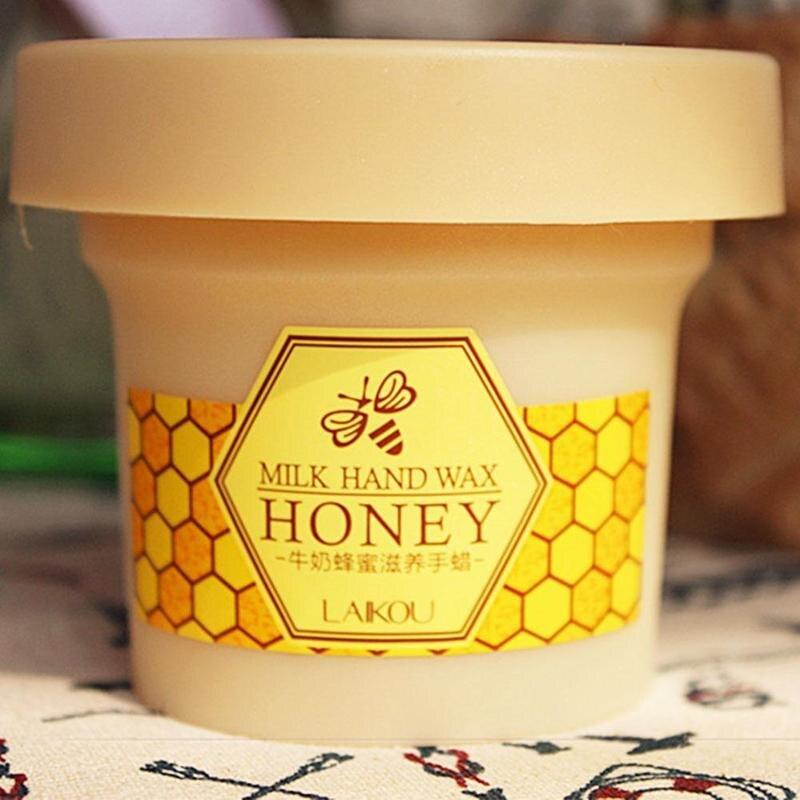 Milk Honey Hand Wax Paraffin Hand Mask Whitening Exfoliating Moisturizing