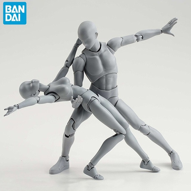 BANDAI Action Figure Drawing Mannequin -  Collectible Model Toy 1