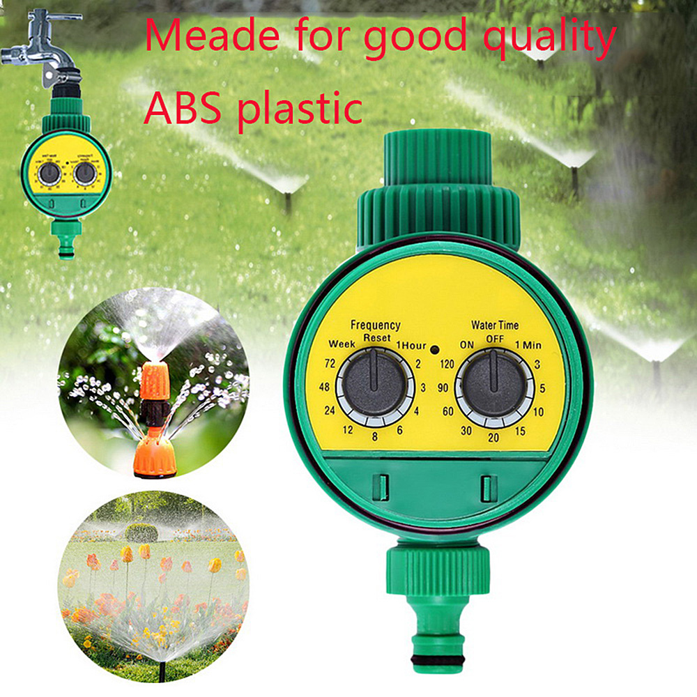 Automatic Irrigation Watering Timer Hose Faucet Timer Outdoor Waterproof Automatic On Off LCD Display Smart Controller