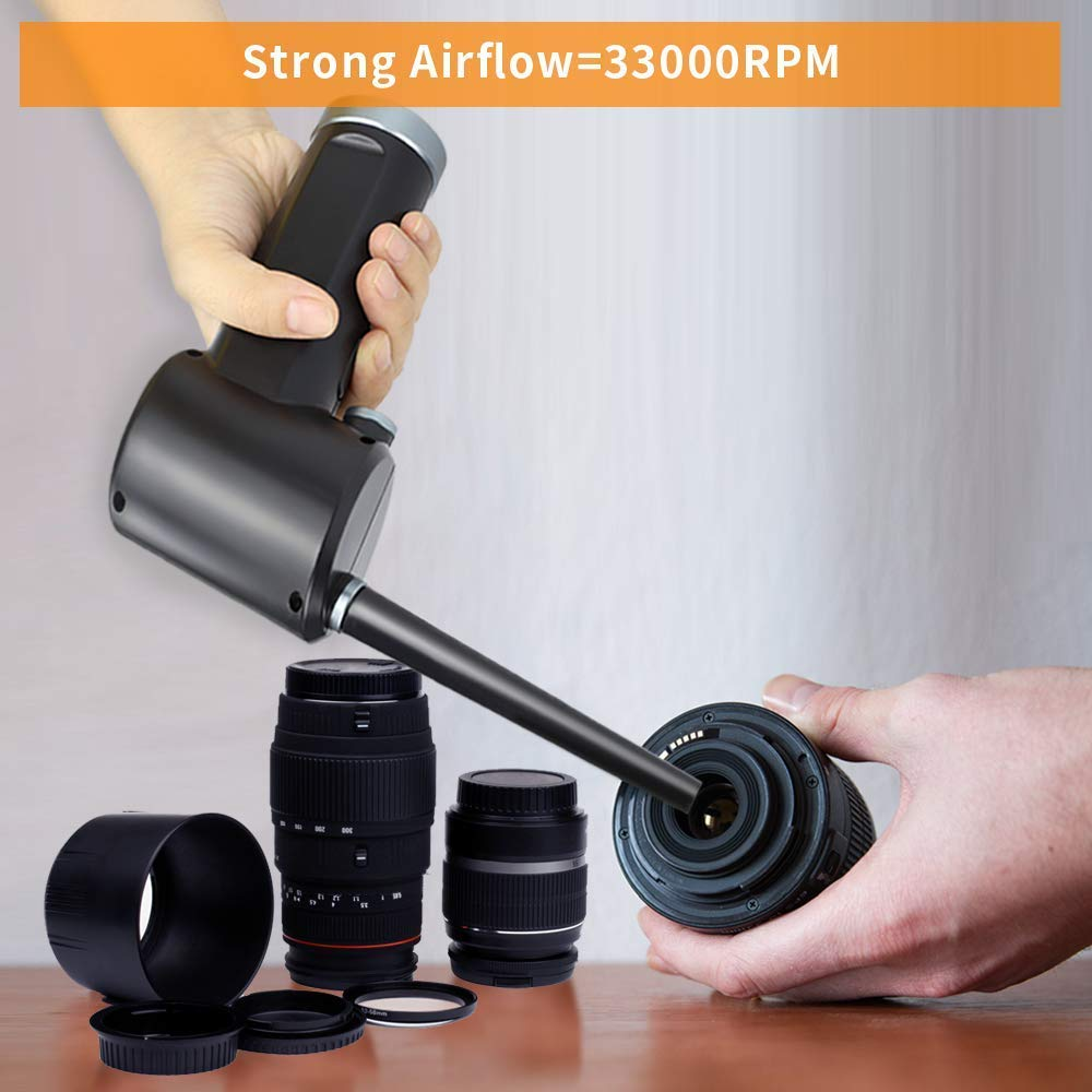 Air-Duster Blower Cleaner Computer Compressed-Spray Cordless for Replaces Gas-Cans Rechargeable