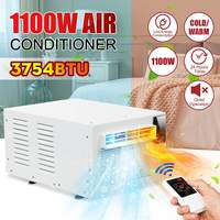 Cold/Heat dual use Desktop air conditioner 1100W 220V/AC 24 hour timer With remote control LED control panel Pet air conditione