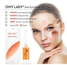 Omy senhora creme para os olhos soro anti rugas removedor olheiras círculos cuidados com os olhos contra o inchaço e sacos hidratante essência dos olhos tslm1