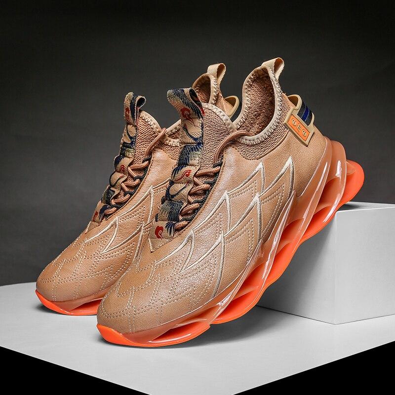 Хит продаж, беговые кроссовки, мужские Нескользящие уличные кроссовки для мальчиков, черные кроссовки для мужчин, удобная спортивная обувь ...