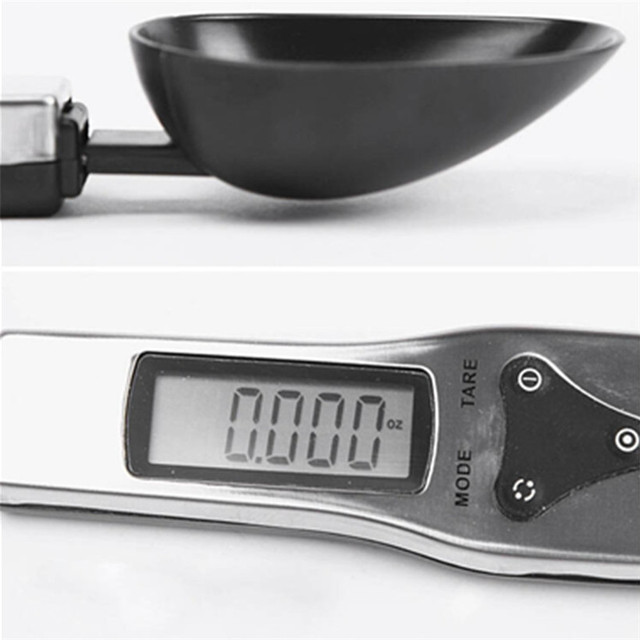 300g/0.1g Portable LCD Digital Kitchen Scale Measuring Spoon Gram Electronic Spoon Weight Volumn Food Scale New High Quality 2