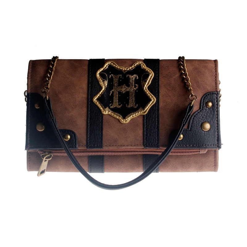 Hogwarts Kofferbak Portemonnee Dames Kleine Vierkante Tas Koffer Geïnspireerd Vouwen Clutch Vrouwelijke Tas DFT8006