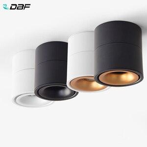 Image 2 - [DBF]360 Grad Drehbare Oberfläche Montiert Decke Downlight 7W 10W 12W 15W LED Decke spot Licht für Küche wohnzimmer Decor