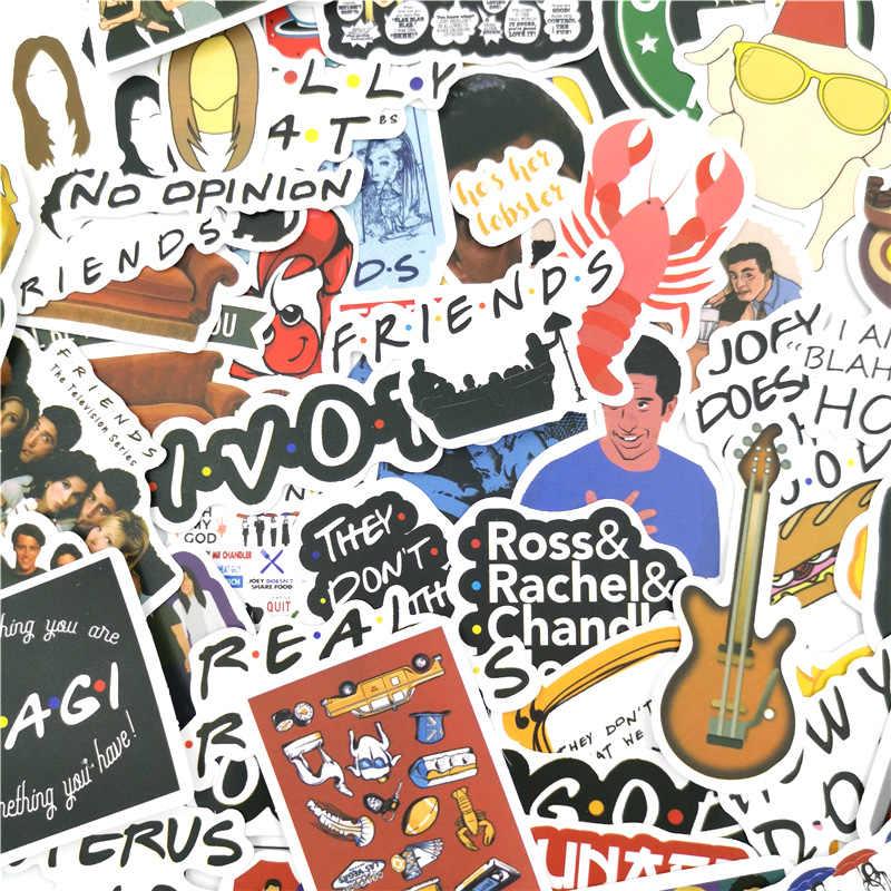 10/30/50 adet arkadaşlar tv gösterisi çıkartmaları paster çizgi film karakterleri anime komik çıkartmaları scrapbooking diy telefon laptop süslemeleri
