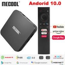 Mecool KM9 Pro Klassische Google Zertifiziert Amlogic S905X2 Android 10,0 2G 16G 4K HDR Cast Voice Control android TV Box Präfix