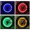 2 pçs led luz de néon válvula tampa da haste para bicicleta carro da motocicleta roda pneu lâmpada azul verde rosa amarelo led pneu luz txtb1