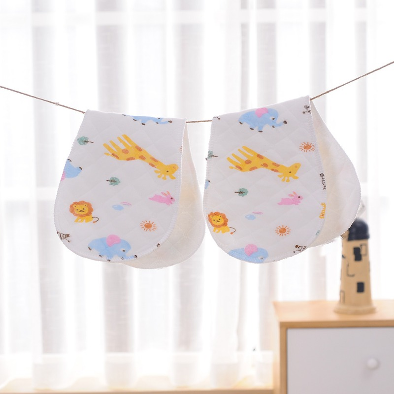 Cotton Material Baby Cartoon Animals Printed Diaper Six Layer Bamboo Eco Comfortable Random Pattern Diapers Nappy Baby Product