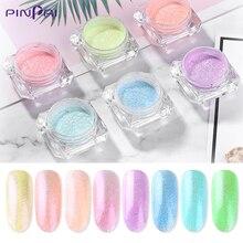 PinPai New Style Ice Clear Effects Nail Art Glitter Powder Manicure Decoration Pigment Shiny UV Gel Polish