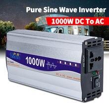 Convertisseur 1000W DC 12 à AC 220 onduleur à onde pure 12V 220V 50HZ convertisseur de tension pour onduleur de voiture domestique