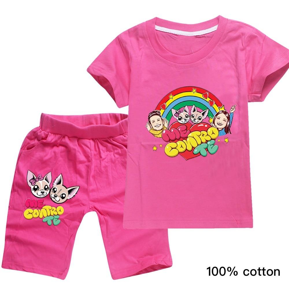 2PCS Kids Baby Girl Cartoon Micky Minnie Mouse Sweatshirt Tops Pant Tracksuit