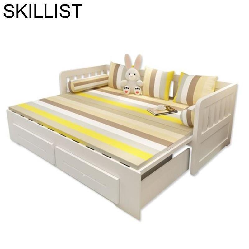 Maison Meubel Copridivano Moderna Mobili Per La Casa Folding Puff Wooden De Sala Mueble Set Living Room Furniture Sofa Bed
