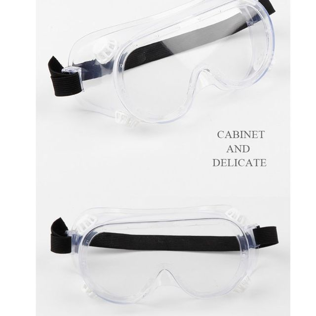 Multifunctional Splash Safety Goggles Anti-Dust Droplets Saliva Protection Anti-Fog Eye Cover Shield for Soldering Lab