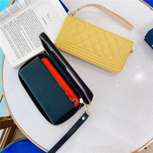 Image 5 - Multifunction Luxury leather wallet card Crossbody chain phone Bag for iphone 11 12 Pro max XS MAX X XR 7 8 plus for Samsung S20