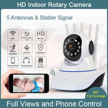 Sunydeal 1080P Wireless IP Camera Pan Tilt 2MP Dome Indoor Way Audio CCTV WiFi Camera Baby Monitor Video Security Surveillance