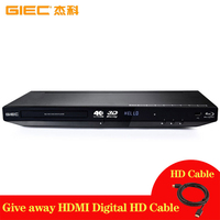 GIEC G4350 4K 3D Automatic error correction Blu ray Player Full HD output Player DVD player HDMI decoding DVD player lecteur dvd
