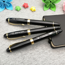 FREE customized wedding ceremony 100set Personalized Anniversary souvenirs nice roller pen custom with your logo text