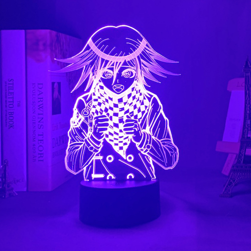 Danganronpa V3 Killing Harmony Led Night Light Game Lamp Kokichi Oma Kids Gift Kokichi Oma Light for Bedroom Decor LED Night Lights  - AliExpress