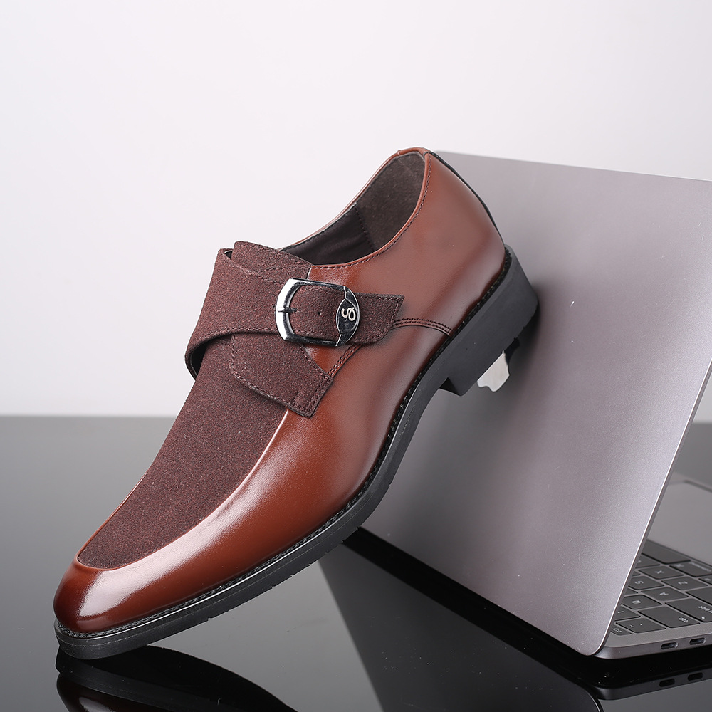 Comerciante Traducción Shinkan  2020 New Men Formal Shoes Buckle Business Leather Shoes Brand Men British  Style Slip on Flats Shoes Plus Size|Formal Shoes| - AliExpress