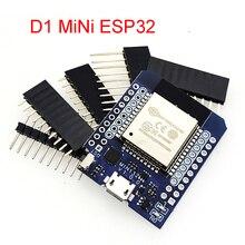 D1 미니 ESP32 ESP 32 WiFi + 블루투스 인터넷 사물 개발 보드 기반 ESP8266