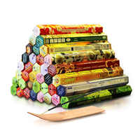 6/9/12Boxes tibetan Incense Stick With Plate Indian Incense Premium Multiple Flavor Mixed Package sandalwood incense T $