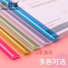 5 Packs A4 Project Folder Report Document Files Folders Color Clip Bar Presentation(50pcs)