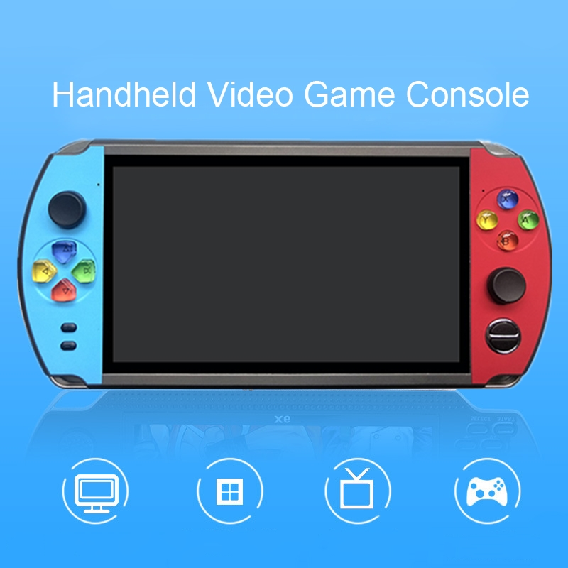 Lecteur de jeu Portable rétro 7.0 pouces LCD écran couleur Console de jeu vidéo intégré 2000 + jeux classiques Mini Console de jeu
