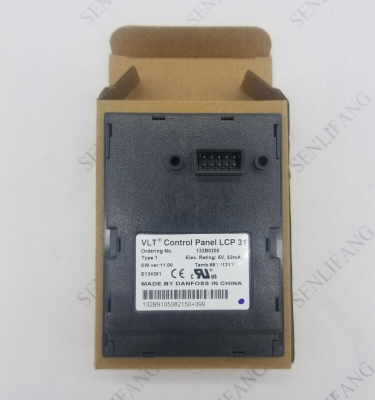 Free Shipping  Original DANFOSS FC101 / FC111 Control Pannel LCP31 LCP 31 132B0200