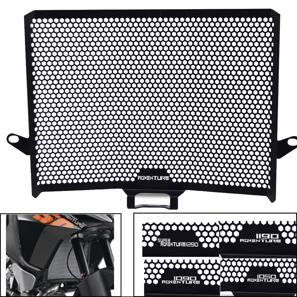 For KTM 1050 1090 1190 Adventure ADV Motorcycle CNC Radiator Grille Grill Protective Guard Cover 1290 Super Duke Adventure R S T
