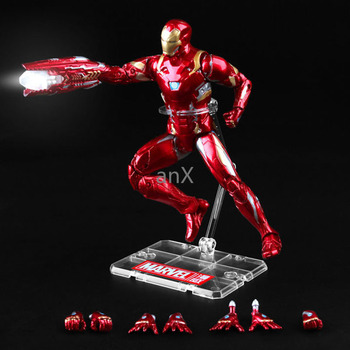 18CM Iron spider Iron Man Thor Action Figure Captain America Winter Soldier Ant-Man  Falcon Infinity War Action Figure Model Toy