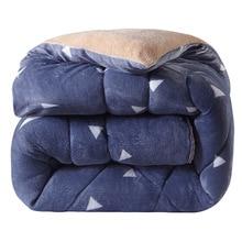 Толстый зимний пододеяльник имитирует шерстяной матрас теплое одеяло матрас; матрас блистерный матрас