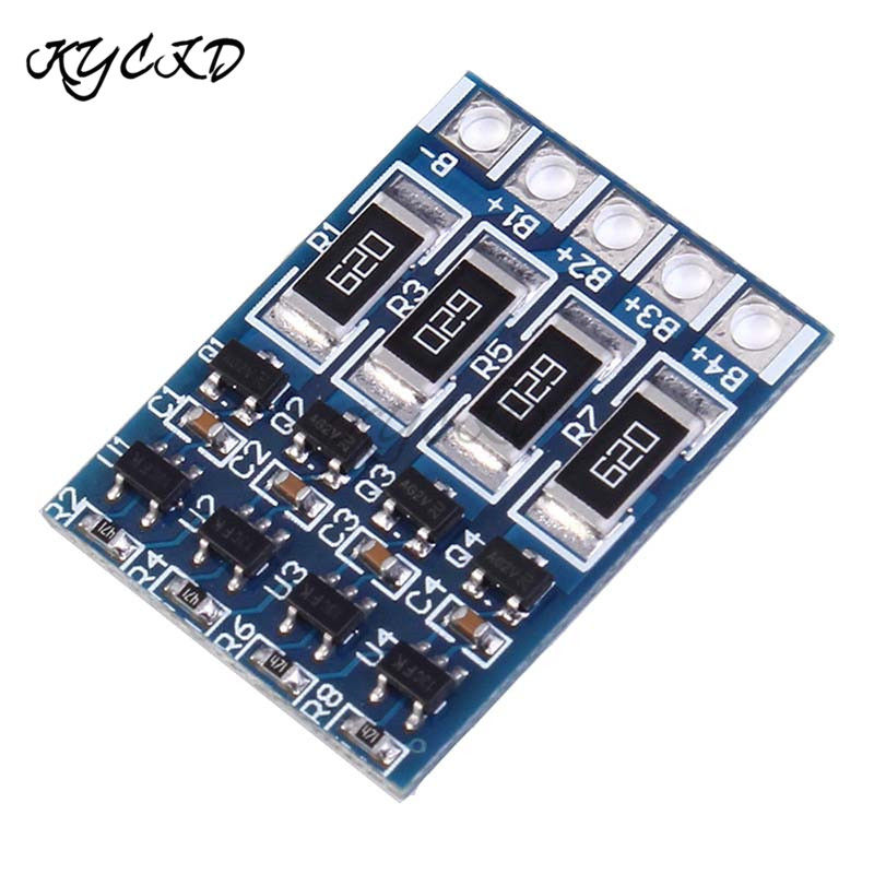 BMS 4S 14.8V 16.8V 18650 Lithium Battery Charge Protection Board Battery Balancer Equalizer PCB Charging Module