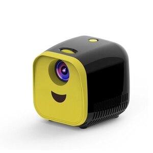 Image 2 - جهاز عرض صغير 480X320P المنزل كامل Hd Led فيلم العارض L1 فيديو العارض الاتحاد الأوروبي التوصيل