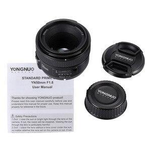 Image 5 - YONGNUO YN50mm F1.8 Grande Apertura Obiettivo AF Per Canon Nikon D800 D300 D700 D3200 D3300 D5100 D5200 D5300 DSLR Della Macchina Fotografica obiettivo di 50mm