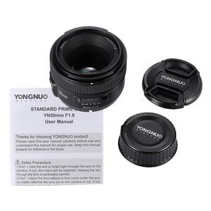 Image 5 - YONGNUO YN50mm F1.8 Large Aperture AF Lens For Canon Nikon D800 D300 D700 D3200 D3300 D5100 D5200 D5300 DSLR Camera Lens 50mm