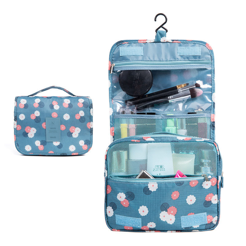 Multifunctional Hook Cosmetic Bag Neceser Large Capacity Wash Bag Outdoor Travel Portable Storage Bag Neceser Make Up Bag