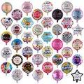 10 шт., фольгированные воздушные шары 18 дюймов