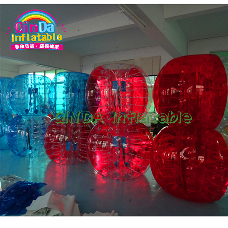Wholesale Prices Giant Outdoor Rent Transparent Human Size Adult Kids Human Body Inside Inflatable Bumper Ball With Pump