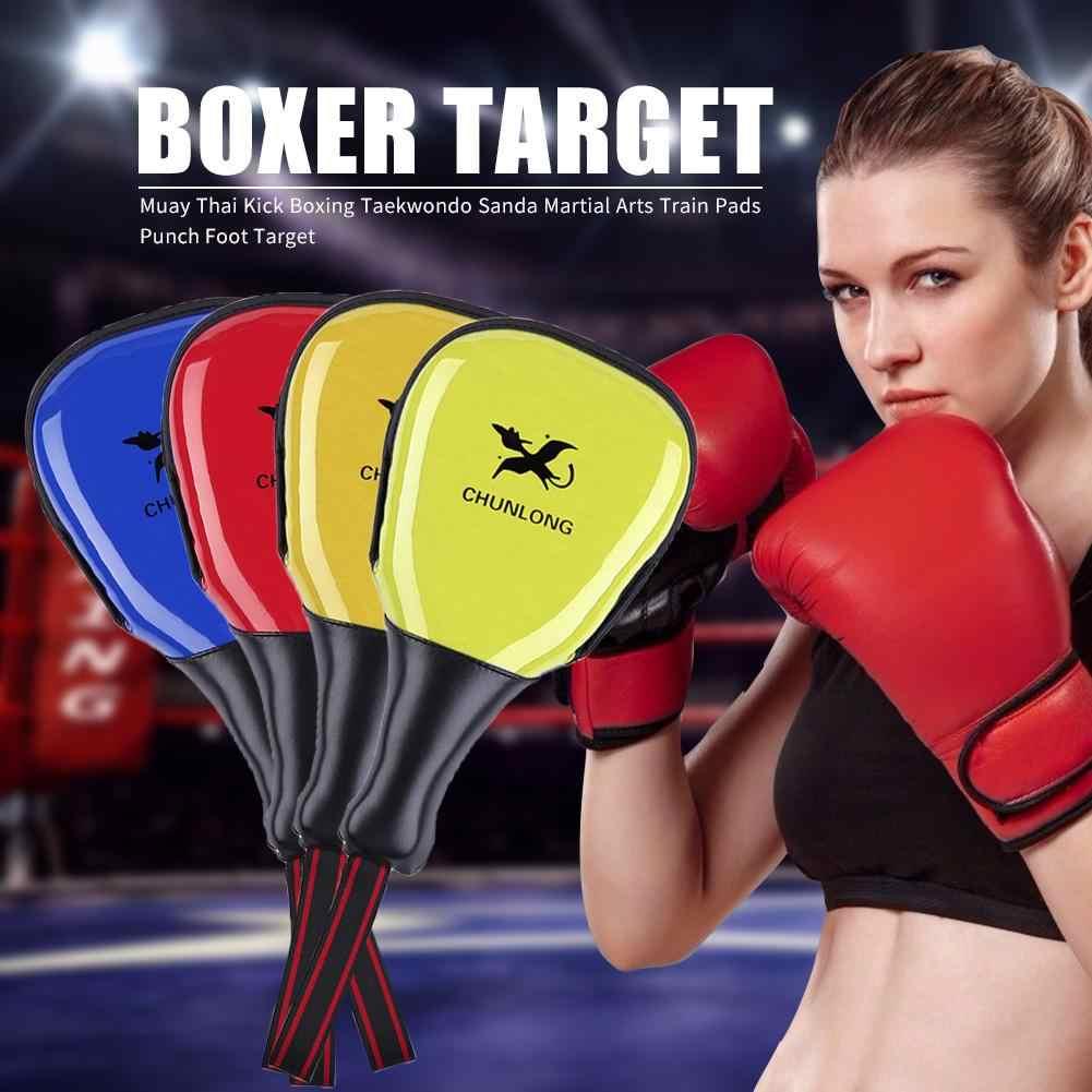 Adult 320g Foot Target Taekwondo Boxing Training Punching Bag PU Rebound Sponge