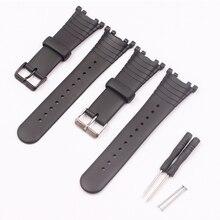 Akcesoria do zegarków pasek gumowy do paska zegarka SUUNTO Vector ze sprzączką