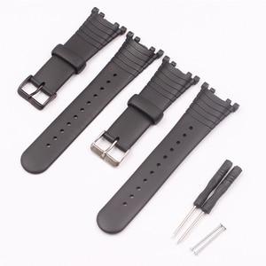 Image 1 - Watch Accessories Rubber Strap For SUUNTO Vector VECTOR Pin Buckle Mens Watch Strap