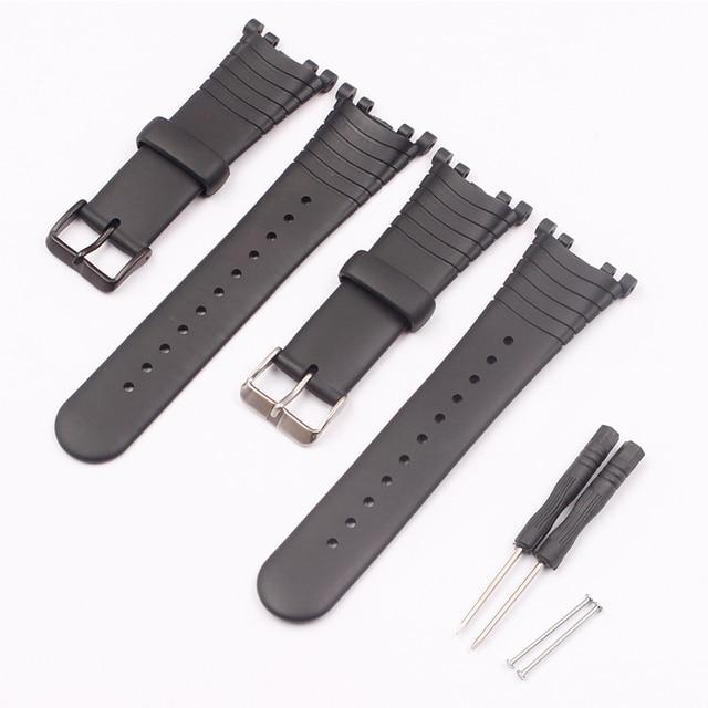 Watch Accessories Rubber Strap For SUUNTO Vector VECTOR Pin Buckle Mens Watch Strap