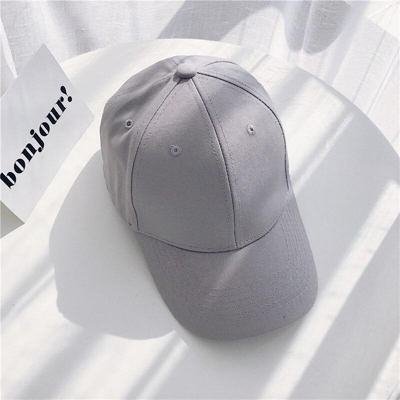 Women Baseball Cap Snapback Casquette Solid Color Men's Baseball Cap Outdoor Sun Hats Summer gorras hombre Adjustable Caps 2020 (20)