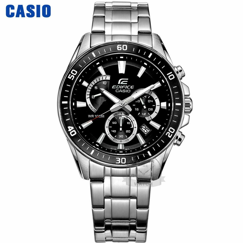 Casio Watch Edifice Watch Men Top Luxury Set Quartz 100m Waterproof Chronograph Men Watch Sport Military Watch Relogio Masculino